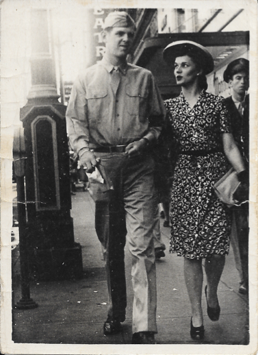 My grandparents on their honeymoon