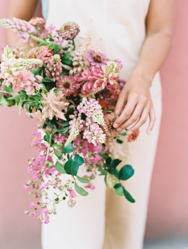 Wedding bouquet by the Wilding Collective