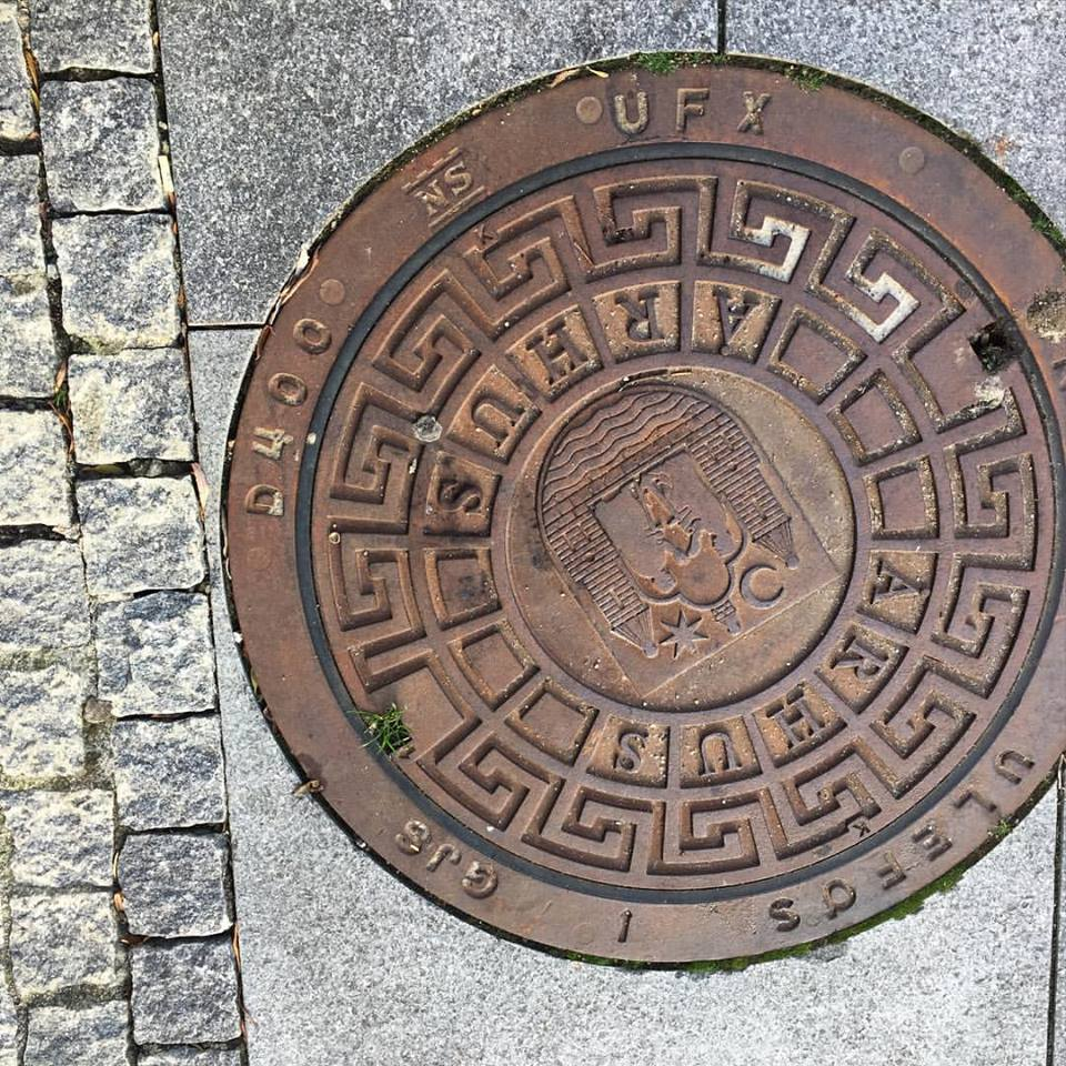 On the ground in Aarhus