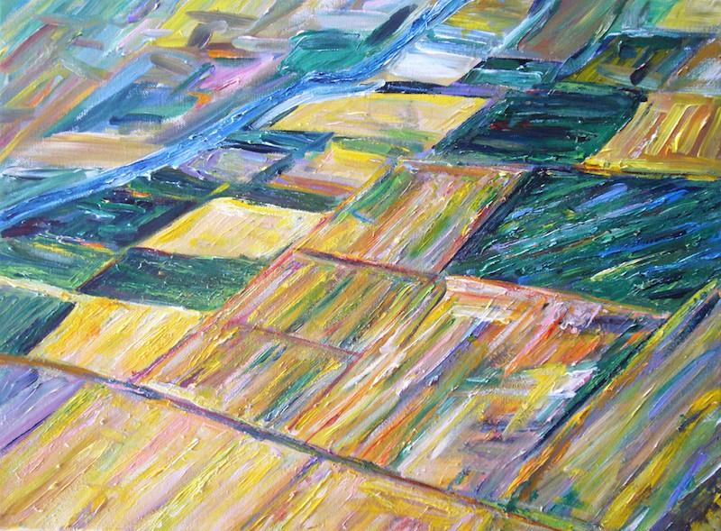 California Delta Painting