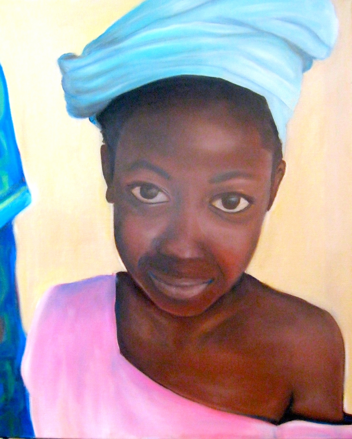 Tegourou Girl (Mali)