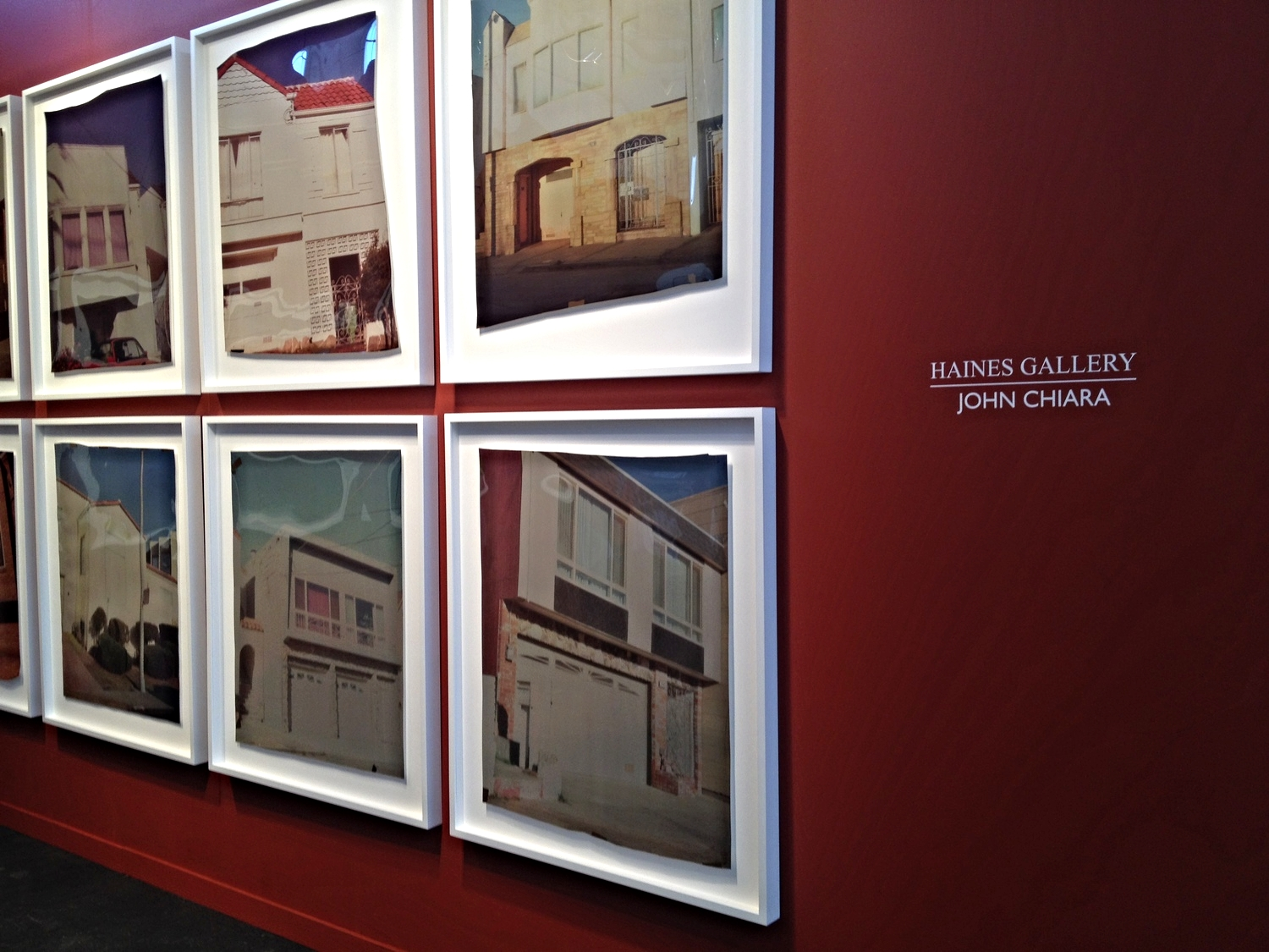 John Chiara's  Camera Obsurca Ilfochrome Photography  at  Haines Gallery