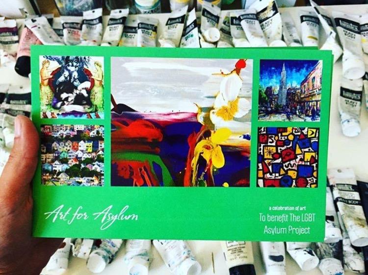 LGBT ASYLUM PROJECT - Art Auction & Exhbition, 2016