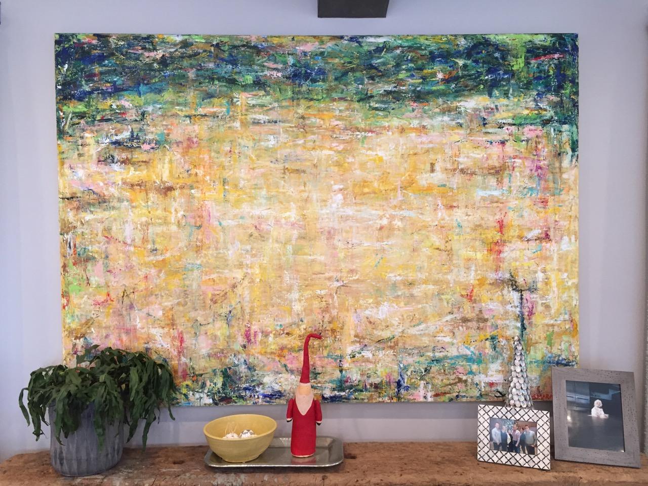 """Spain, 64 x 80"""", acrylic on canvas, 2015"""