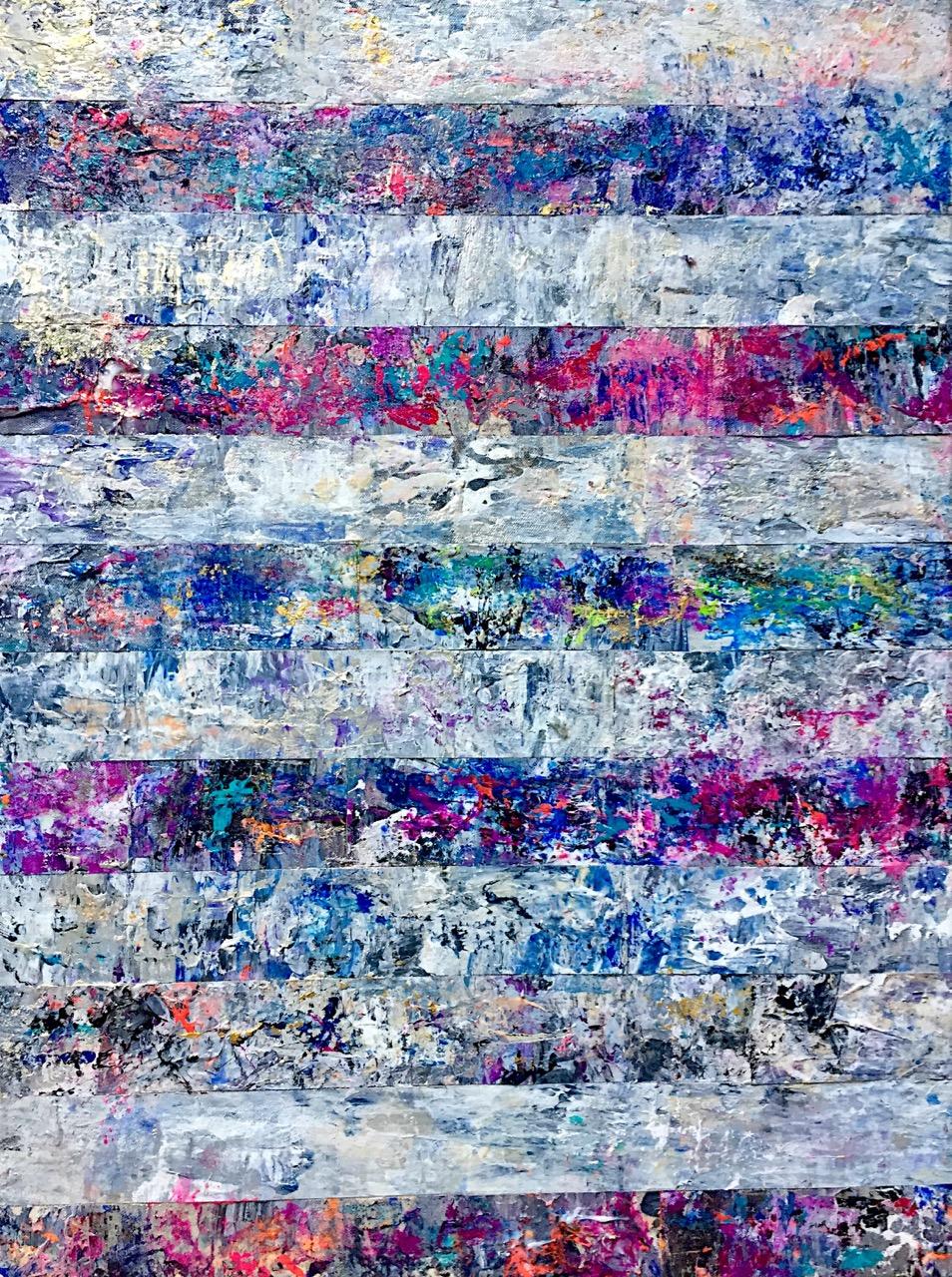 "SOLD • Gaia •18 x 24"" •Acrylic on canvas"