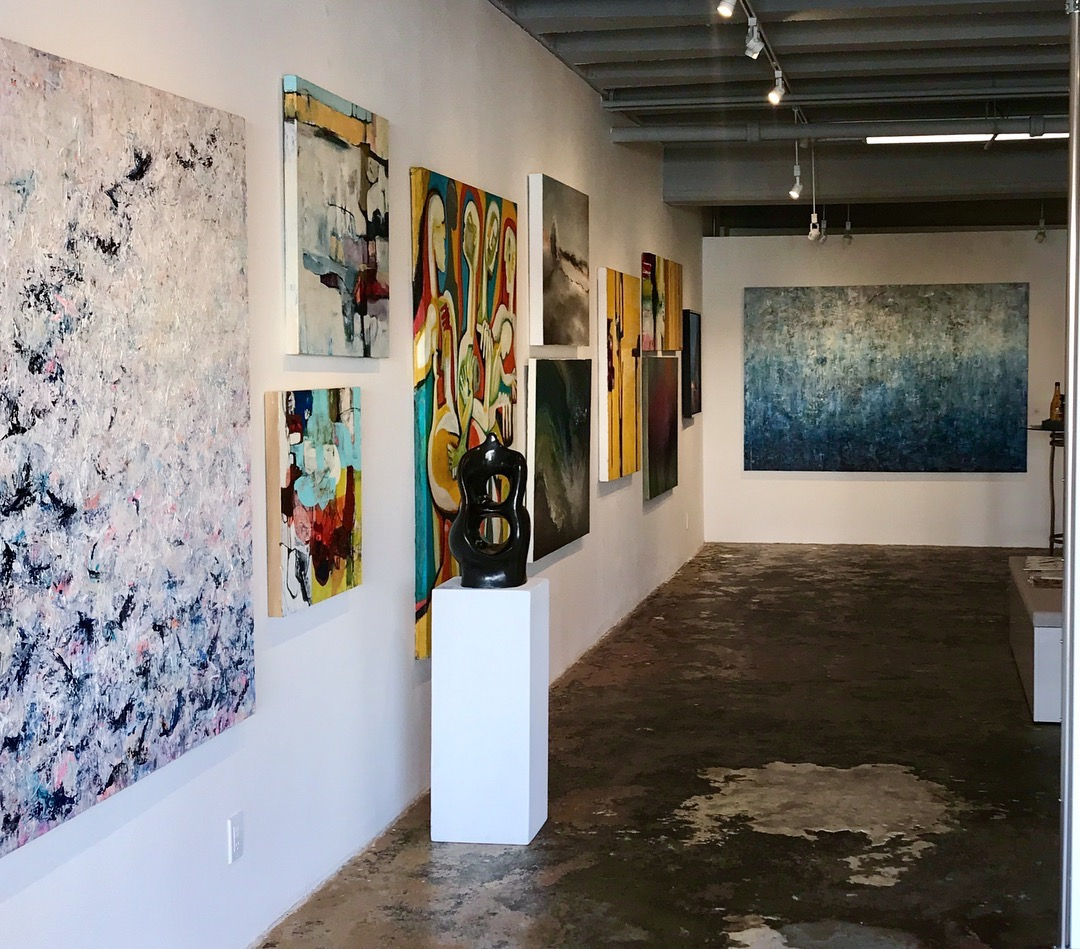 Barba Contemporary Art, Palm Springs. April 8, 2018