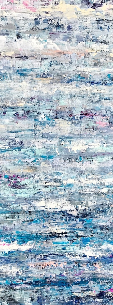 """To Be Determined •22x60"""" • $2200"""