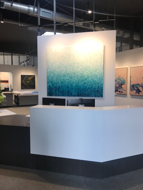"Cartagena •60x70""•Kevin Barry Fine Art, Santa Monica•2018"