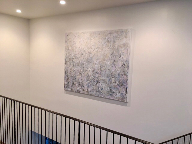 """The Sound of Absence  •60x72""""•Mill Valley, California"""