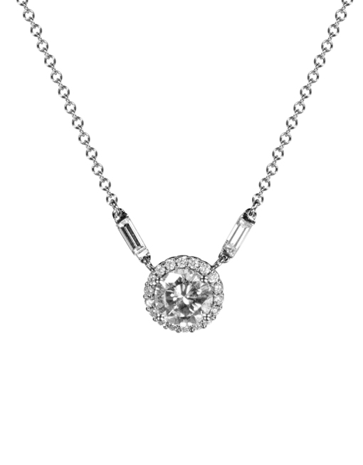 Once Loved Loved again Platinum & Diamond Pendant     Diamonds were from a family engagement Ring. remounted into a stunning necklace.