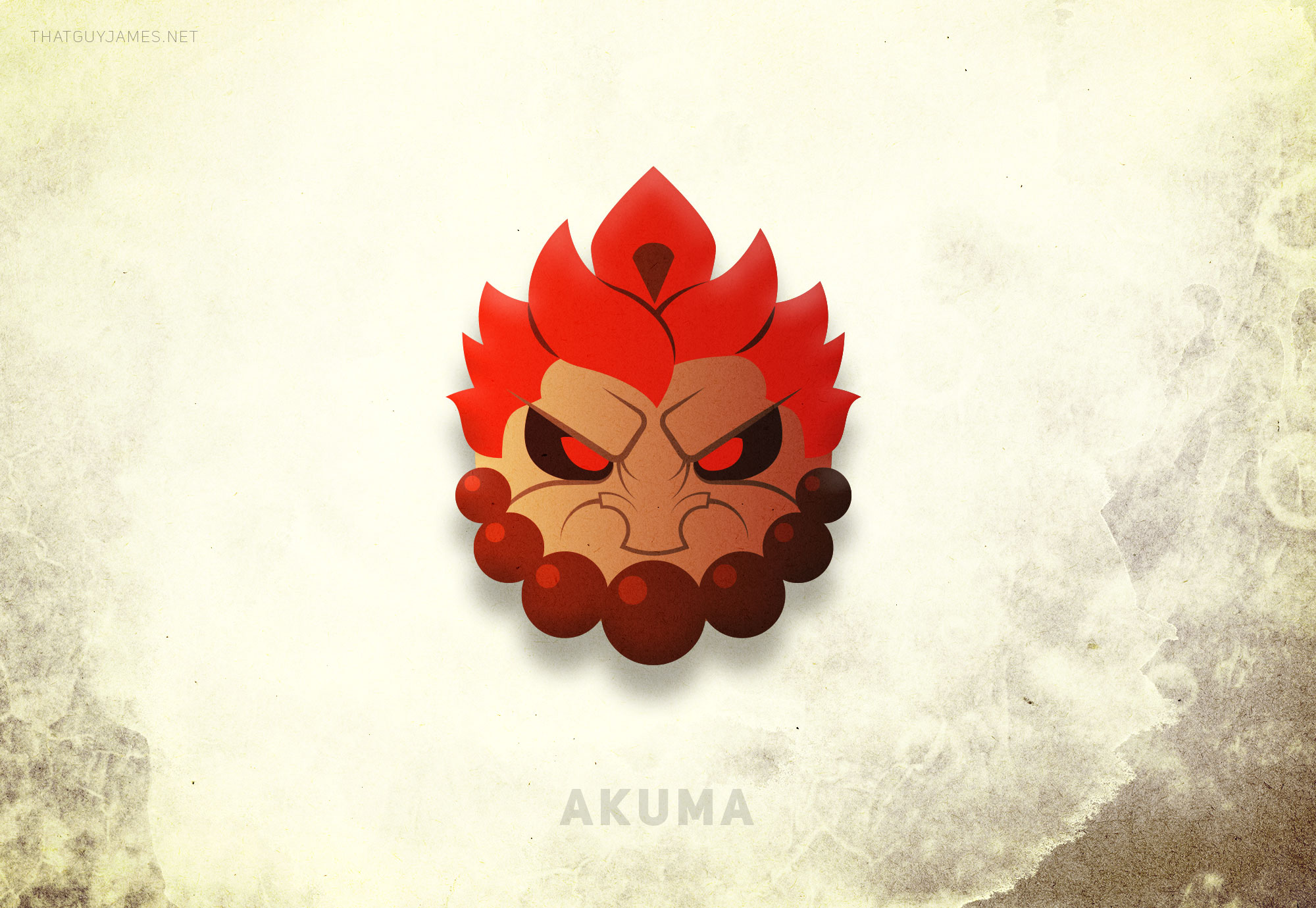 The idea that started this project, Akuma is the only character I ever played and thus the only character I ever got any good at when Street Fighter 4 dropped. Of all the characters, I feel this one was the most successful. I've had several peple tell me this guy reminds them of Samurai Jack in a good way. I can think of few higher compliments.