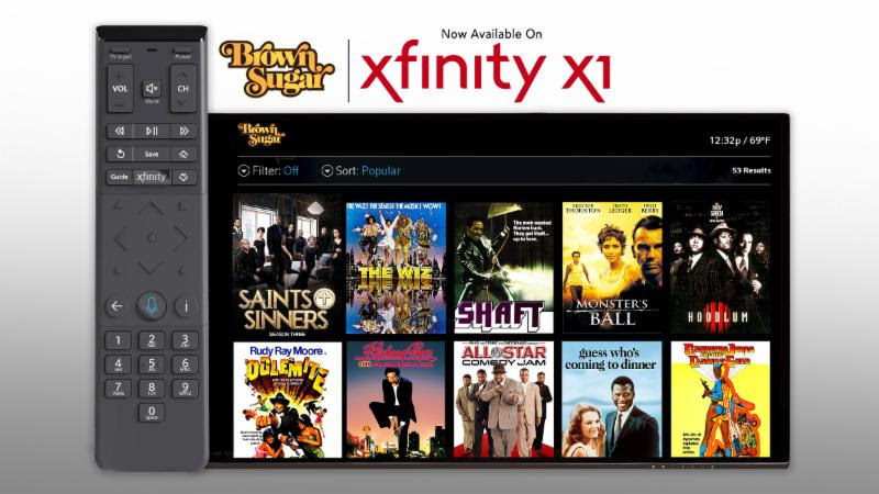"""ATLANTA (Nov. 9. 2018) -- Brown Sugar , asubscription-video-on-demand service operated by Bounce andfeaturingthe biggest collection of the """"baddest"""" African-American movies of all-time, is now available over the Internet on Comcast's Xfinity X1 .   Xfinity X1 customers can subscribe to and access Brown Sugar'sextensive libraryof iconic black moviesby saying """"Brown Sugar"""" into their X1 Voice Remote, or by finding it within Xfinity on Demand's curated Black Film & TV destination or networks section. Brown Sugar can be added to X1 customers' service fora seven-day free trial period and then for $3.99 per month thereafter.  Brown Sugar programming includes:  Critically acclaimed films like Monster's Ball featuring Academy Award®-winning actress Halle Berry and the 1967 classic Guess Who's Coming to Dinner , starring the legendary Sidney Poitier.  Popular """"Blaxploitation"""" movies such as Super Fly, Dolemite and Cleopatra Jones.   Other classic films such as Hollywood Shuffle, Sparkle, and Richard Pryor: Live on the Sunset Strip.   Complete seasons of hit Bounce series including Saints & Sinners, Family Time , In The Cut and more, along withexciting events such as the boxing series Premier Boxing Champions.   Streaming documentaries featuring music's greatest icons including Beyoncé: On Top, Prince: Purple Reign and Michael Jackson: The Journey.   Brown Sugaris also available onApple TV, Roku, Amazon Channels, Amazon Fire TV, Amazon Kindle, Android and Apple smartphones and tablets and web browsers via BrownSugar.com . Brown Sugar is operated by Bounce, the fastest-growing African-American network on television; both are part of The E.W. Scripps Company (NASDAQ: SSP)."""