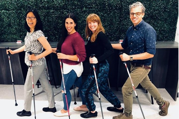 Exercise for Neurological Conditions - Balance & Mobility Group, 'Strong and Balanced'' with MS, Urban Poling Groups, Neurological Pilates