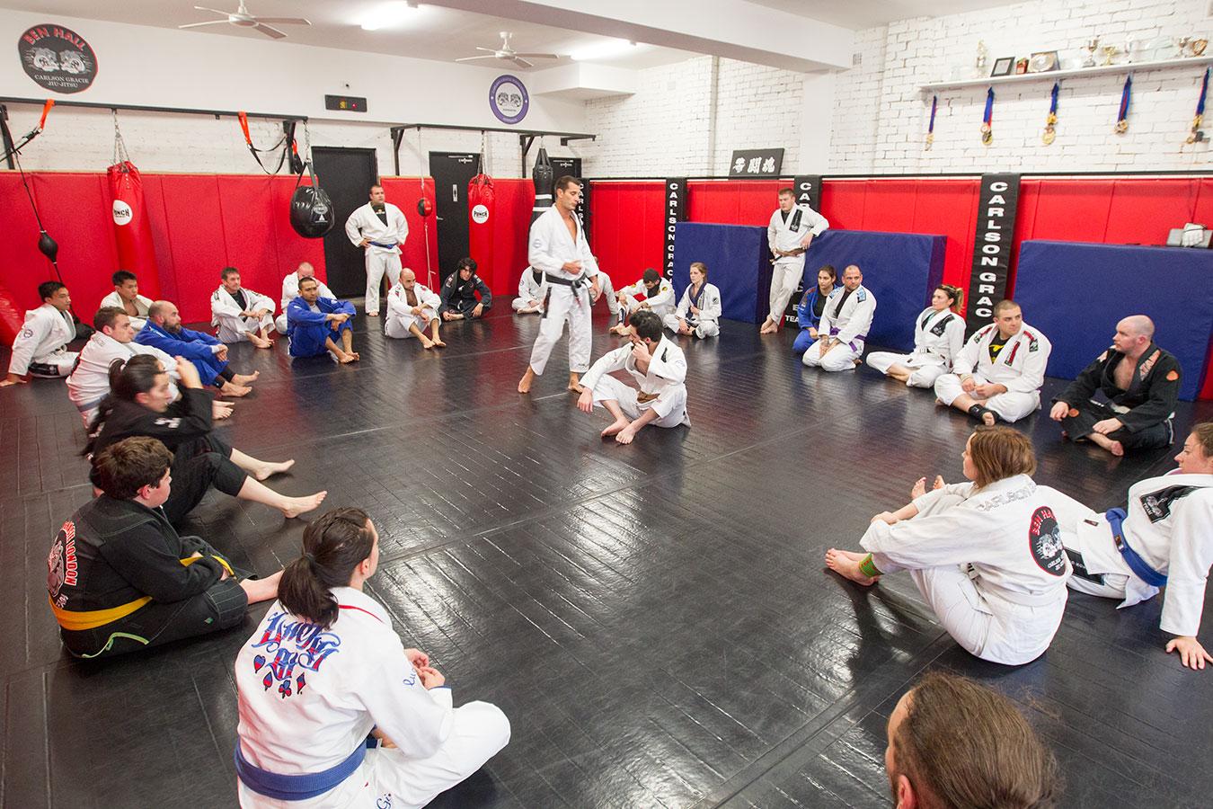Ben Hall Carlson Gracie Jiu-Jitsu