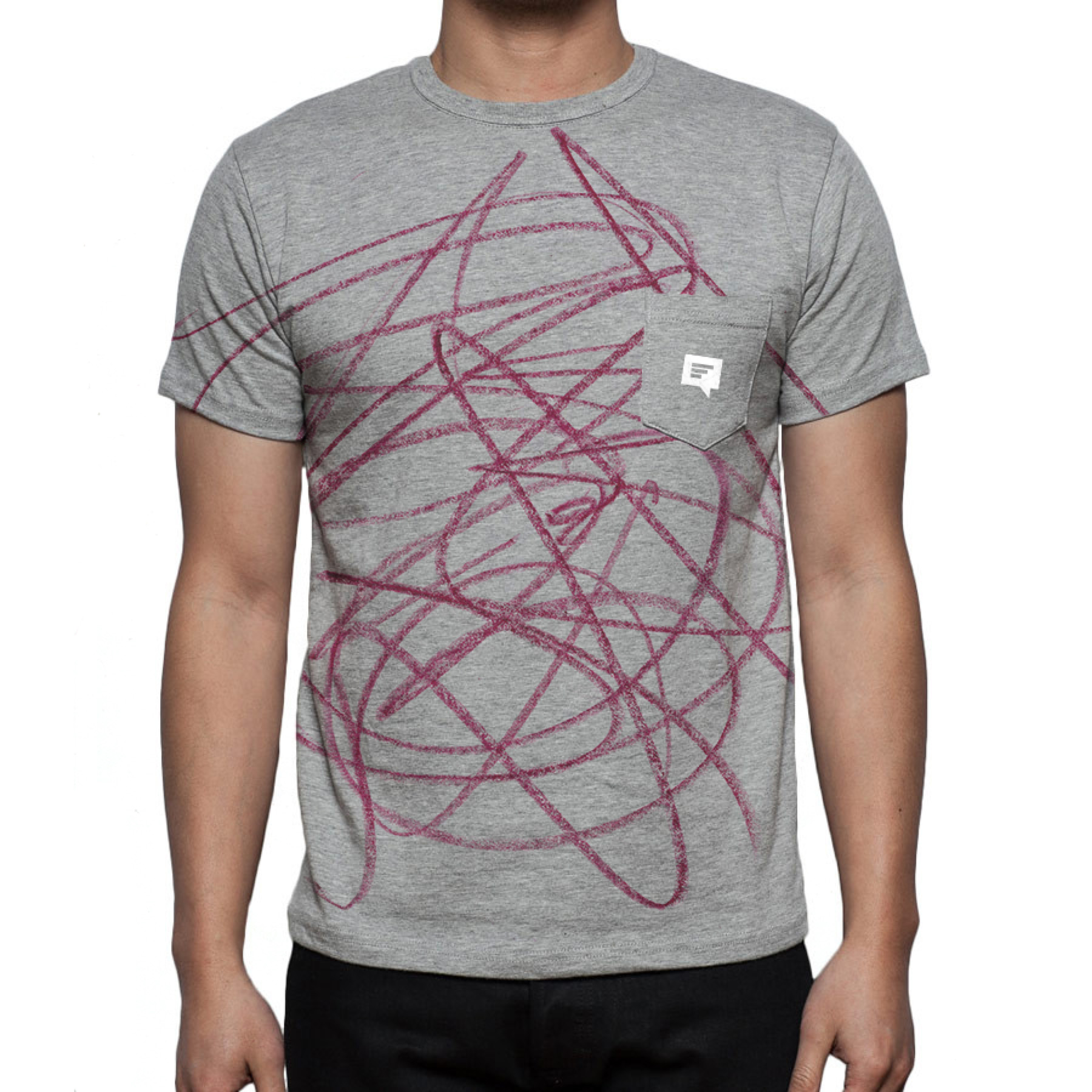 It was assumed that the kids would naturally color their t-shirts with everyday use alone,whether it be grass stains, paint, or food. With parents being less likely to do so, we decided to color it for them in their own t-shirts pictured above.