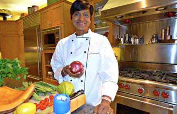 Chef and diabetes education advocate Siva Swaminathan