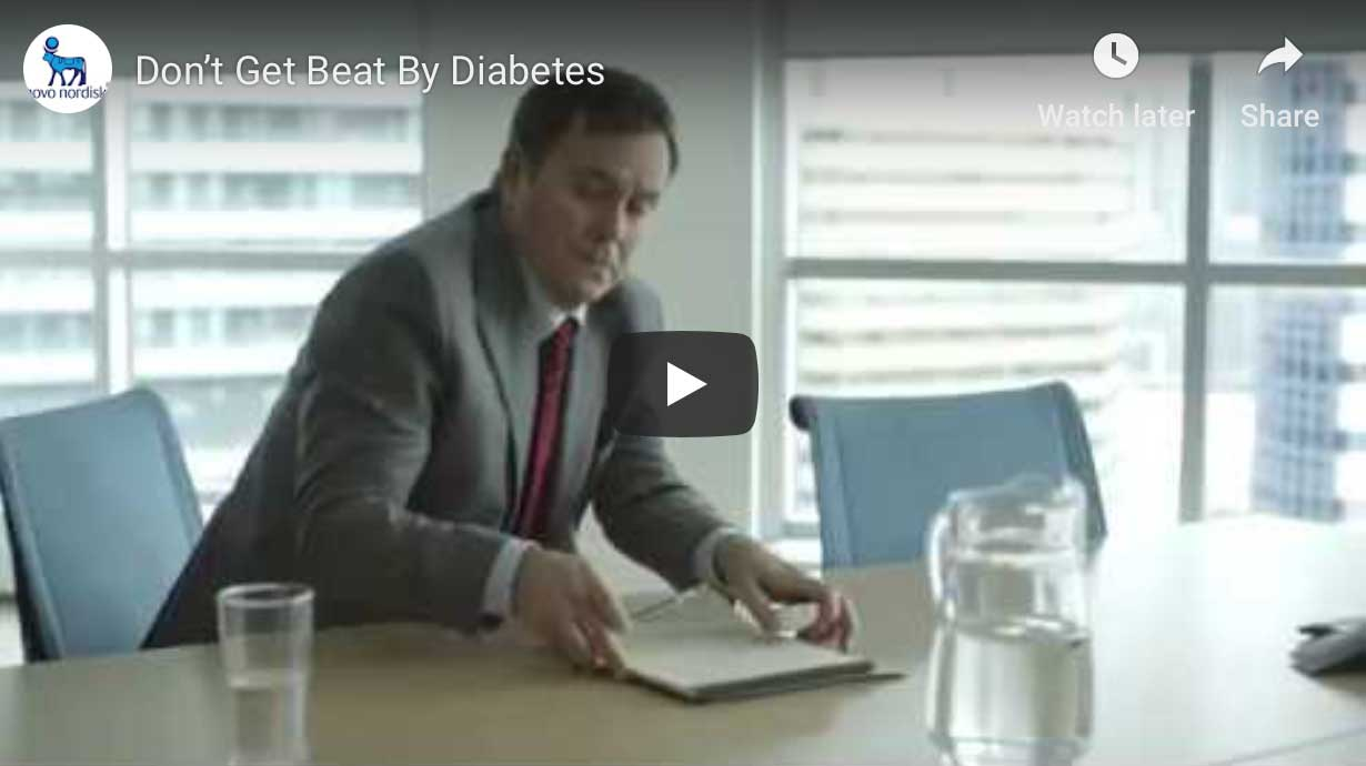 Don't Get Beat By Diabetes