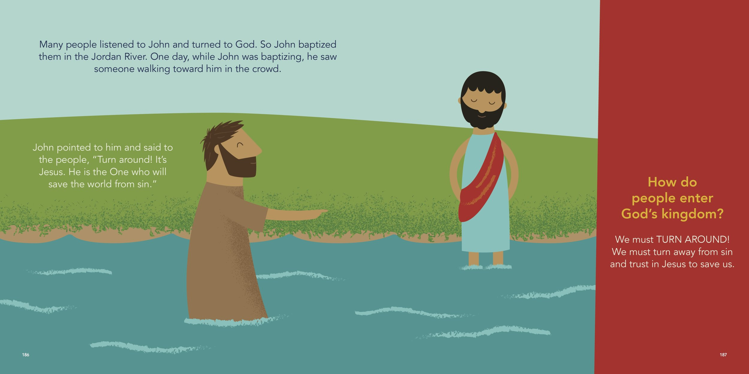 Illustration and layout by Trish Mahoney from   The Beginner's Gospel Story Bible   by Jared Kennedy, (New Growth Press, 2017).