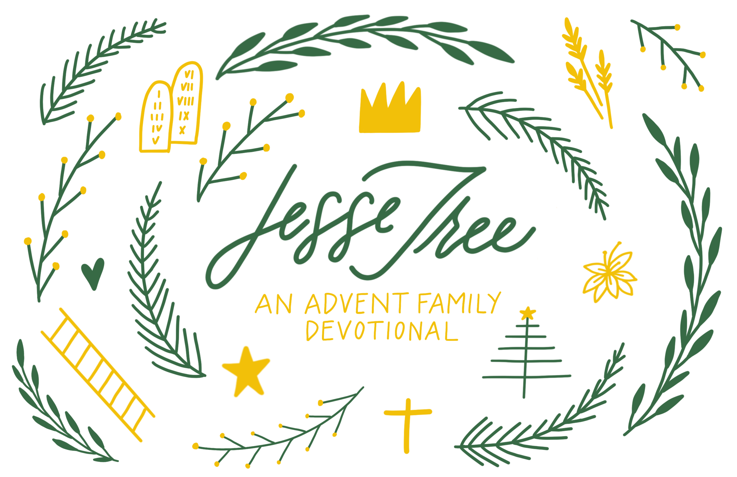 graphic about Jesse Tree Symbols Printable named The Jesse Tree and Other Arrival Elements Gospel Based