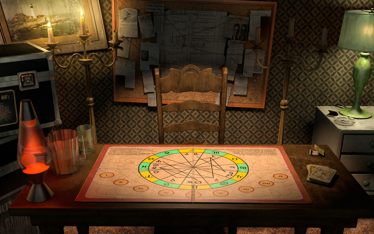 Hotel: The Psychic Table