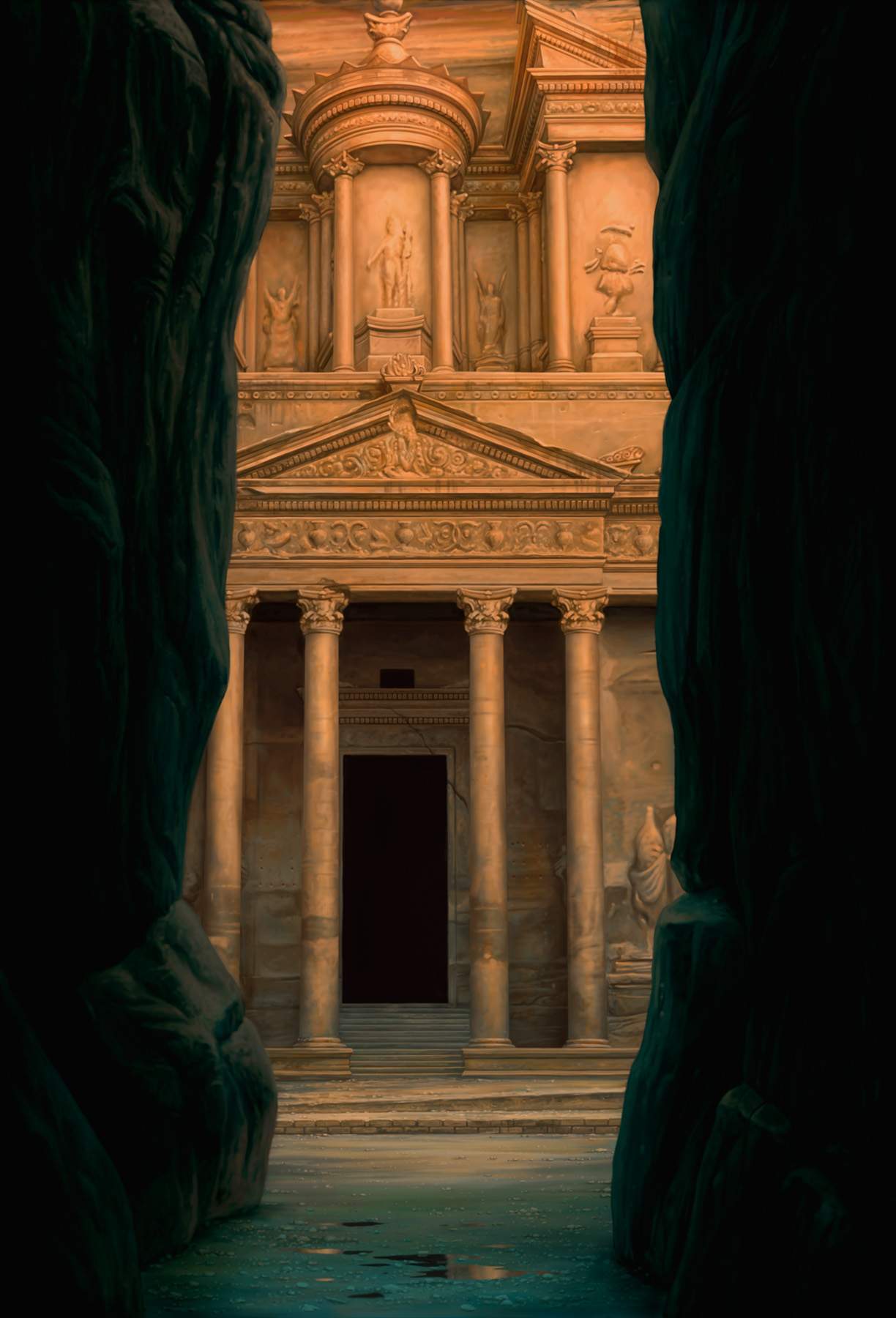 """The Treasury at Petra"""