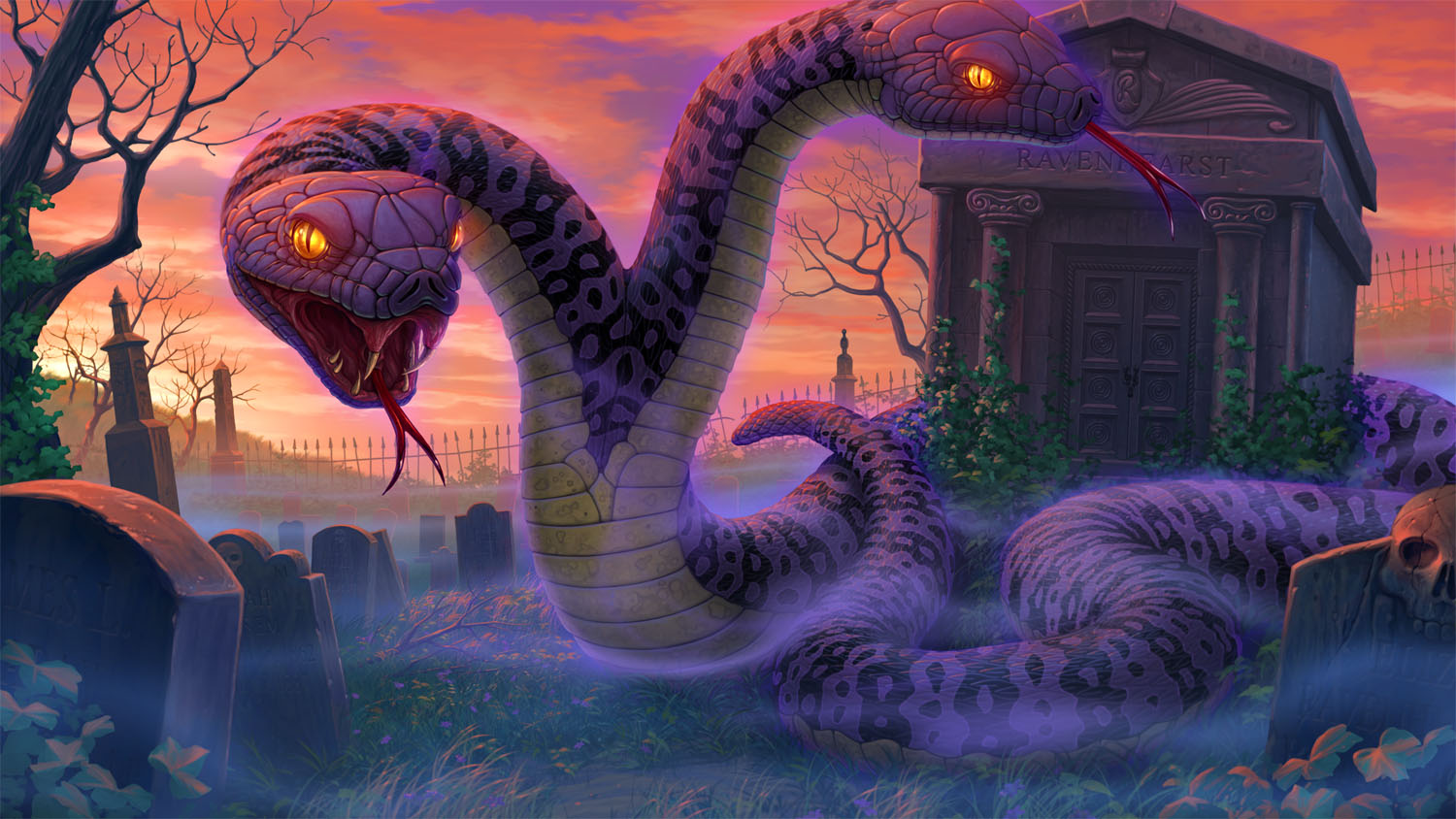 """Serpents in the Graveyard"""