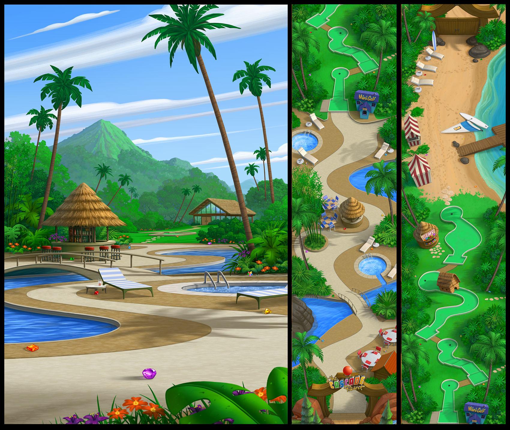 """Cascade Resort"""
