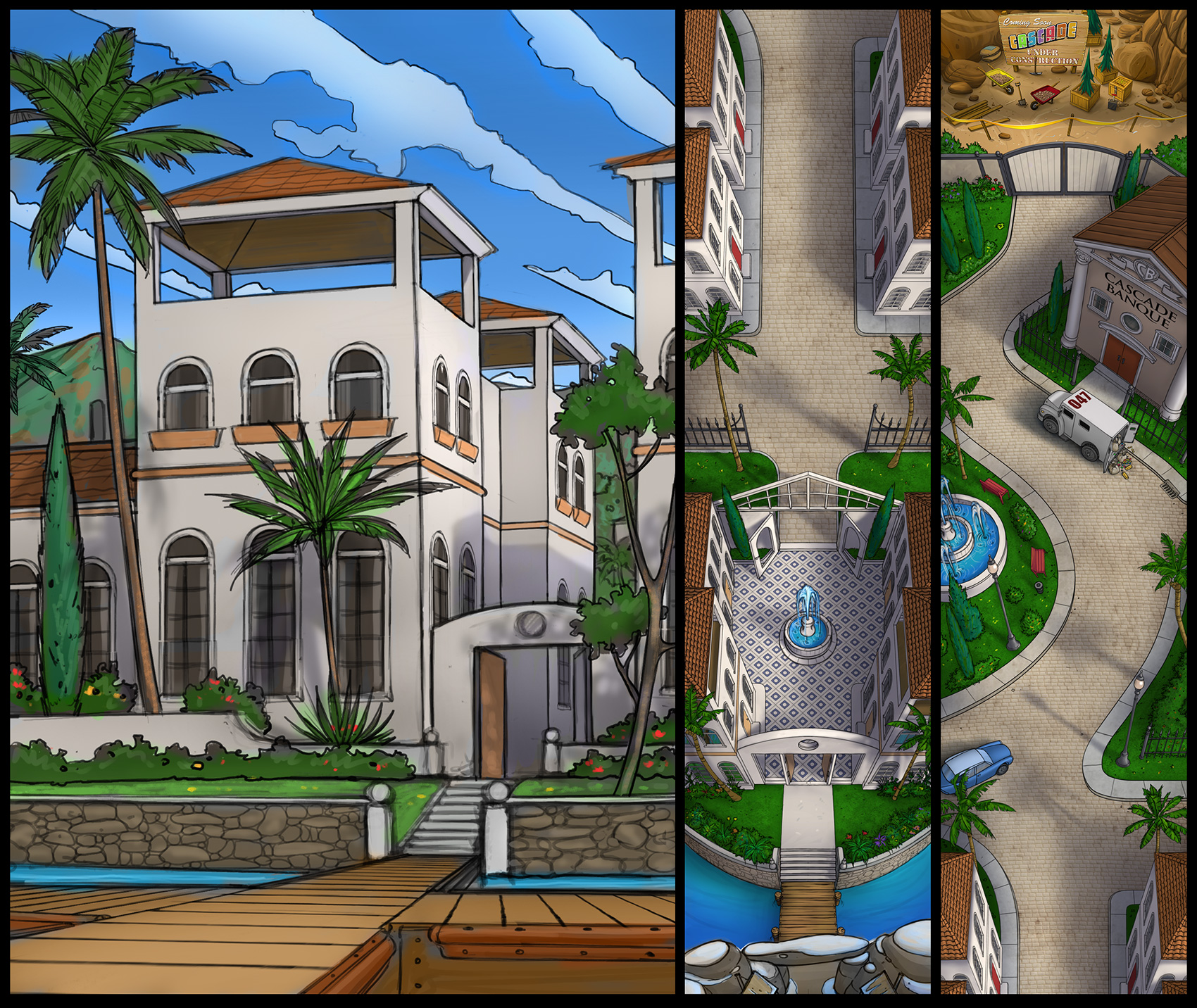 """""""Riviera"""" (Concept art)"""