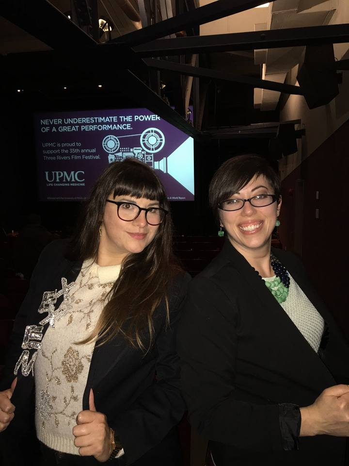 Director Lindsey Phillips and friend Sarah Ardnt!