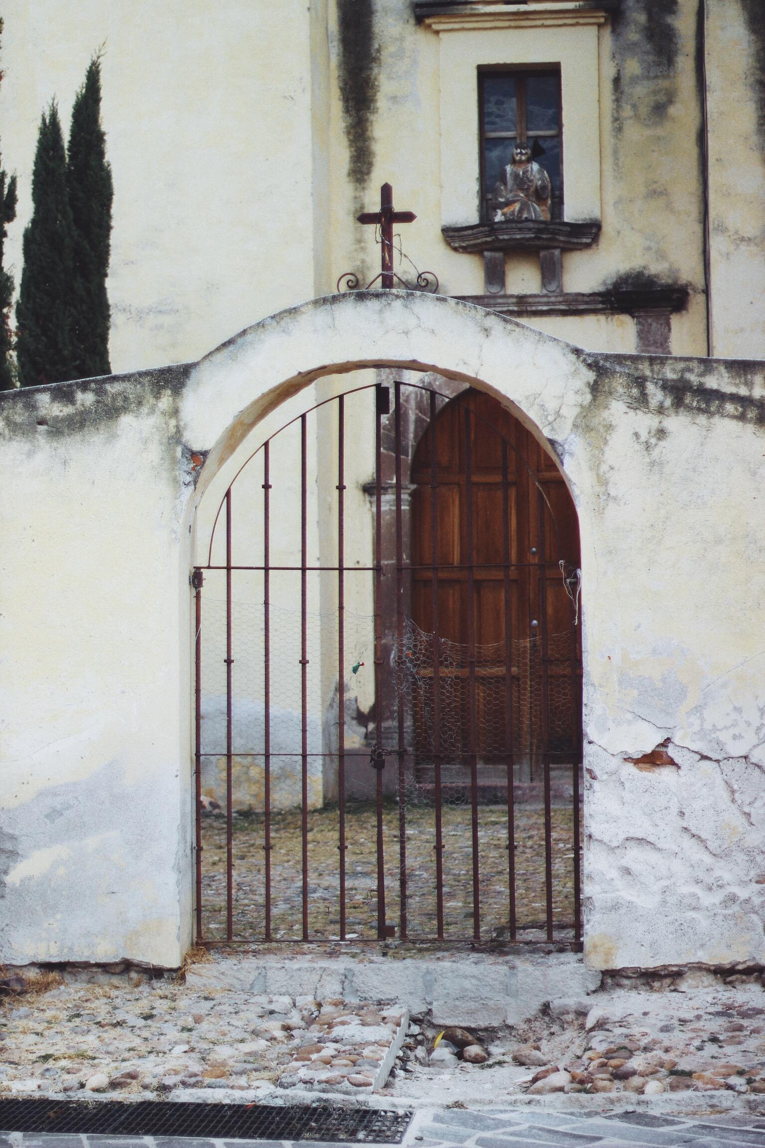 Church Gates, San Miguel // Mel Denisse