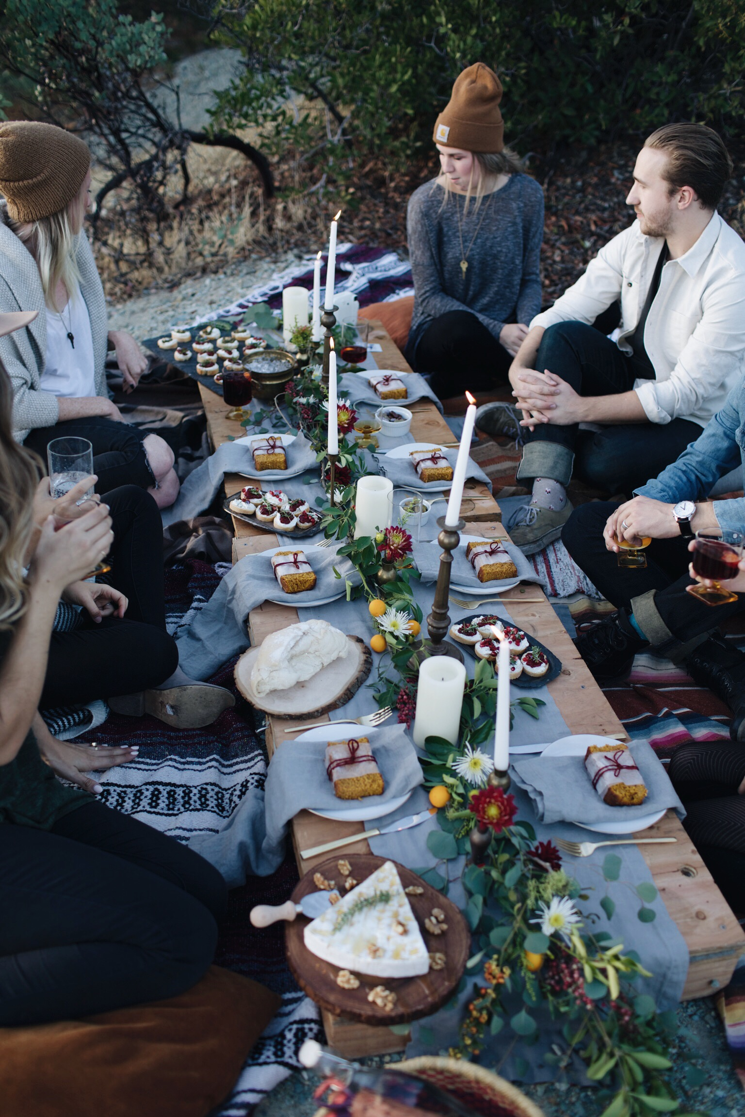 Holiday Feast By The Lake // Mel Denisse