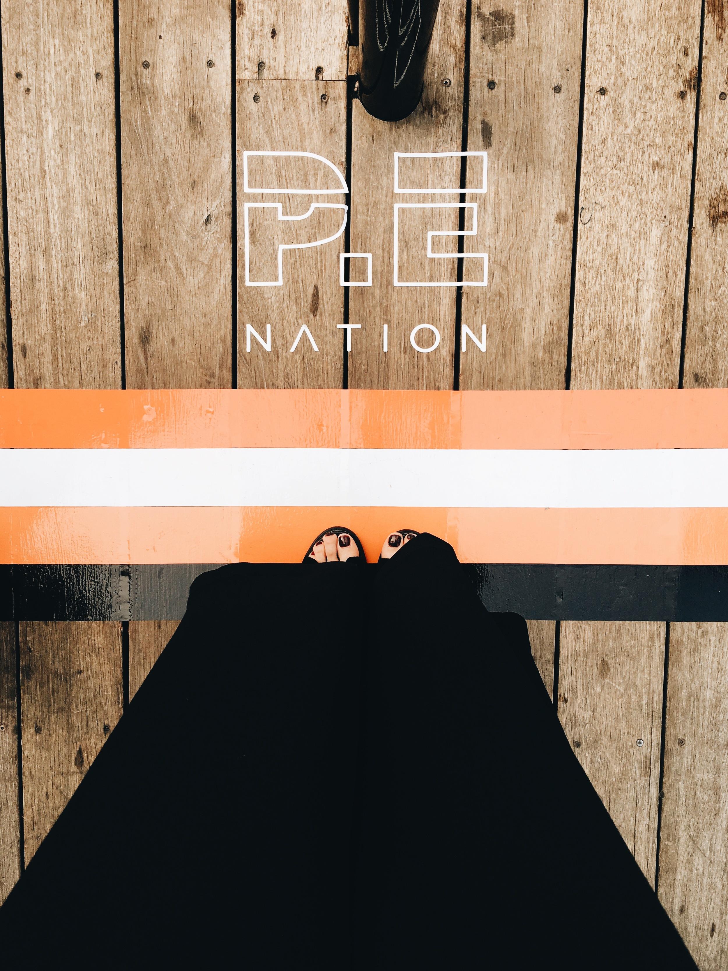 P.E. Nation Launch Party // Mel Denisse