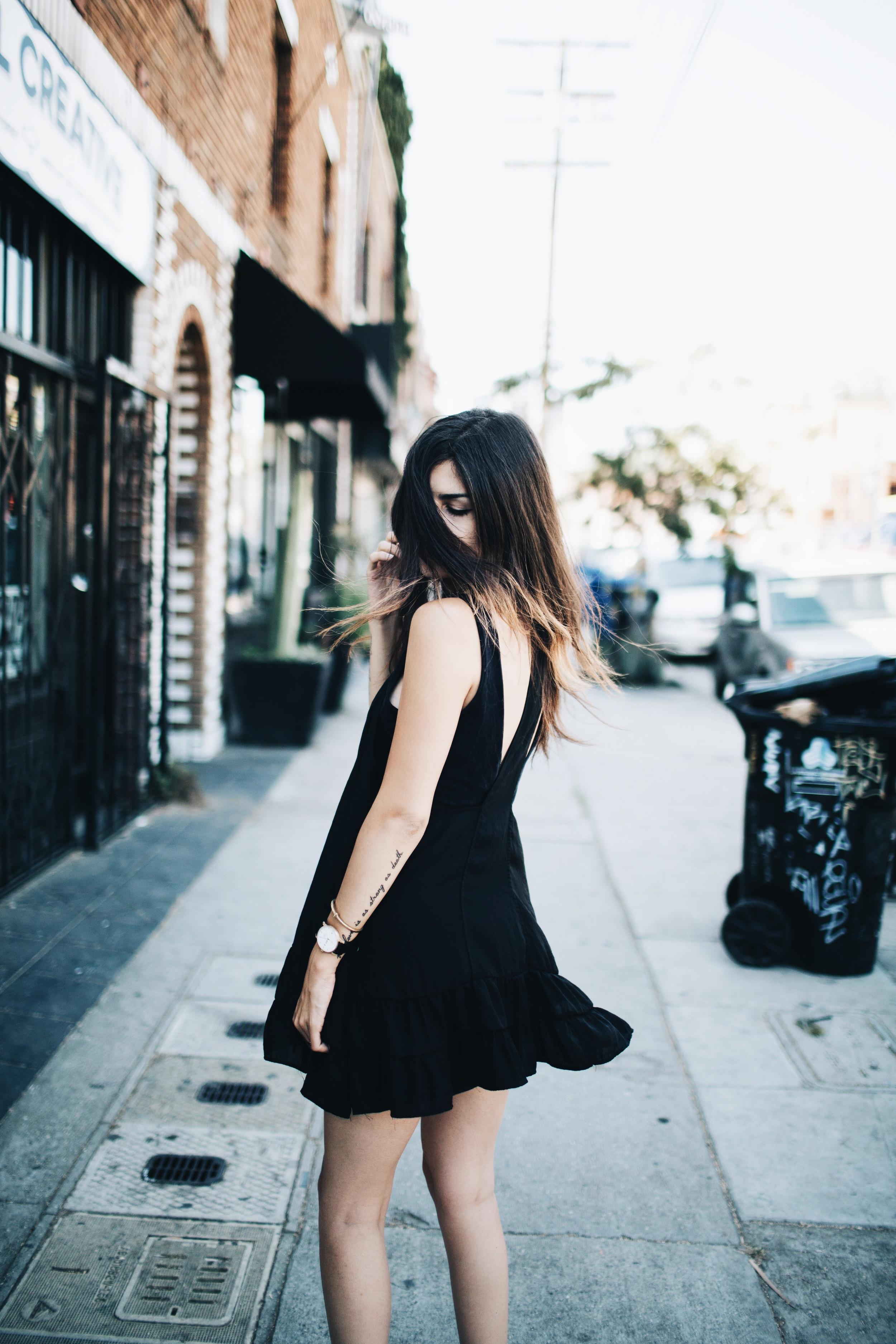 Black + Bold Statements // Mel Denisse