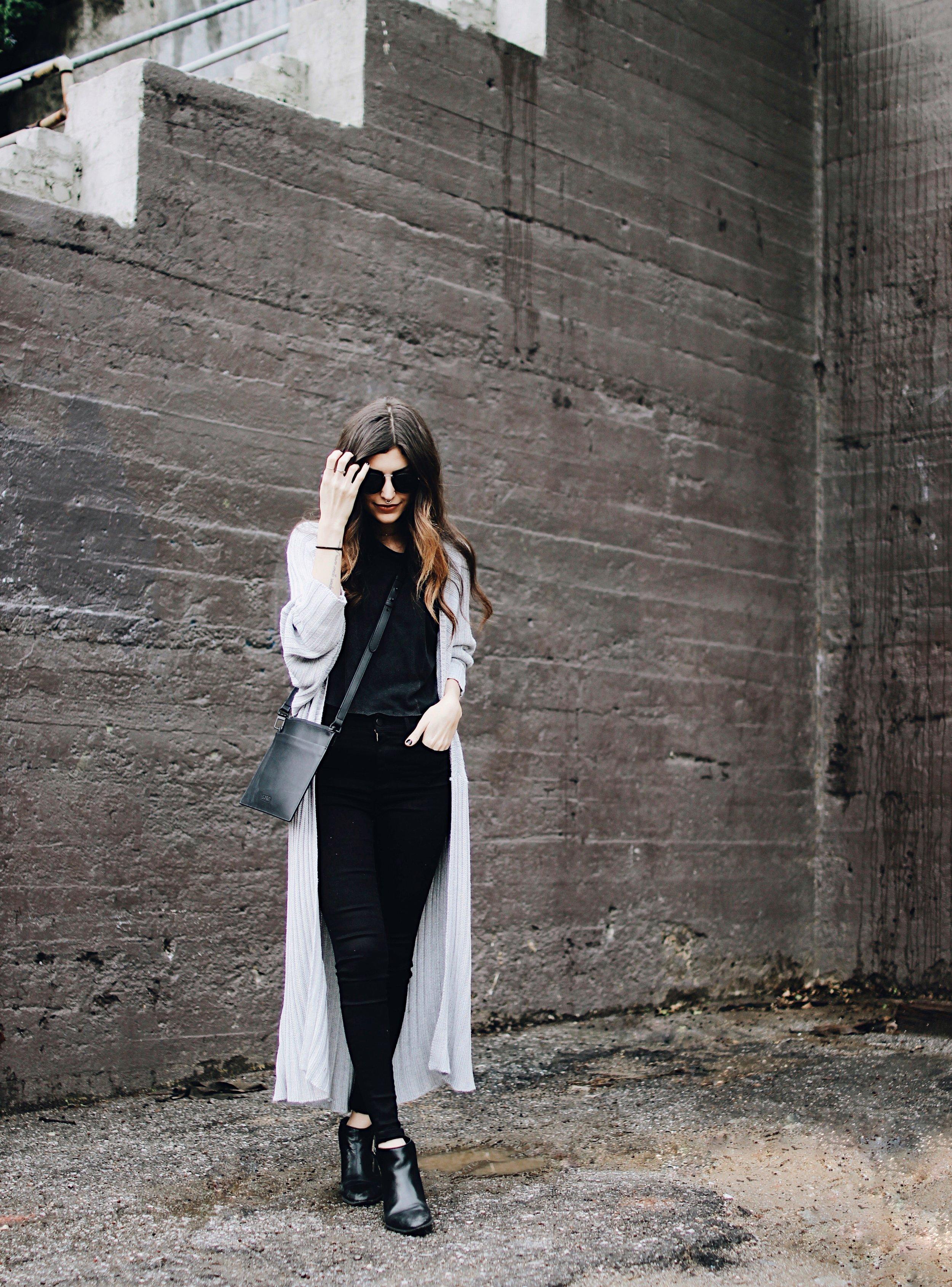 Layered Neutrals For Grey Days // Mel Denisse