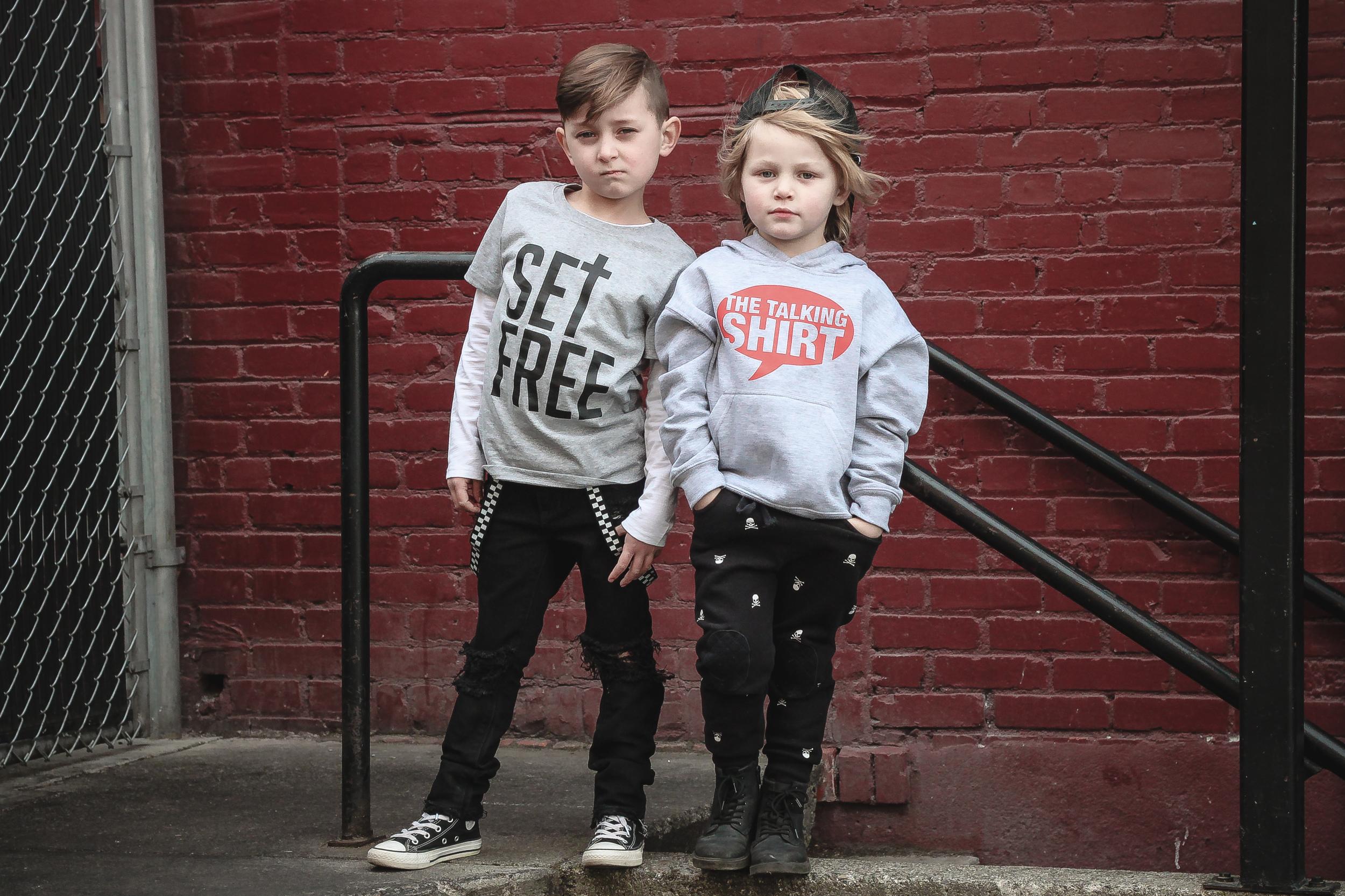 The Talking Shirt by Phoenix Street