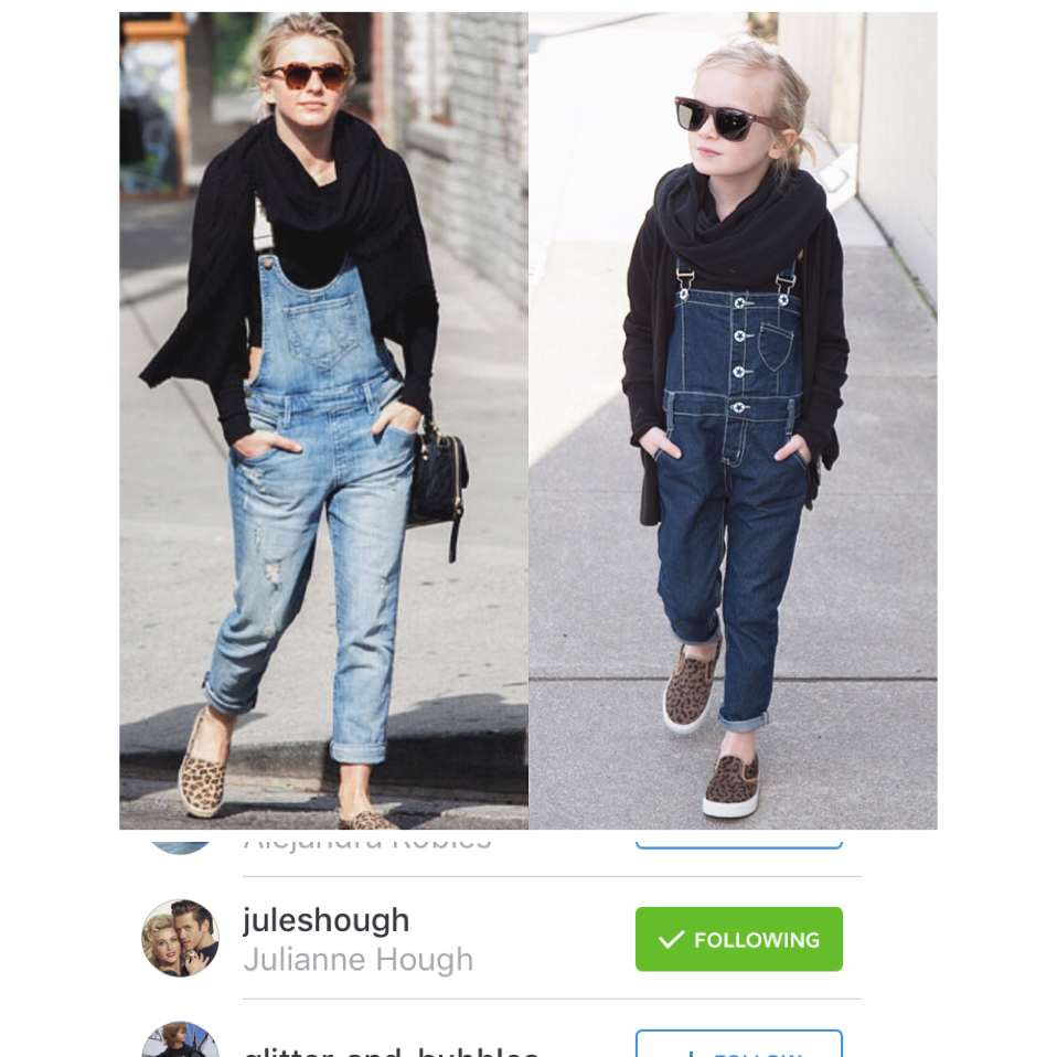 overalls: little edge threads // shoes & cardi: gap kids