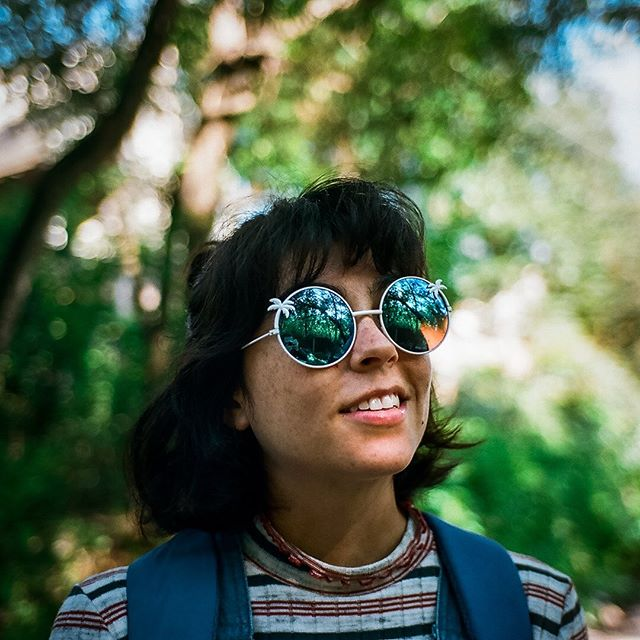 "portrait of Julia ""too cool for school"" Miller, on film // leica m4 w/ portra 400"