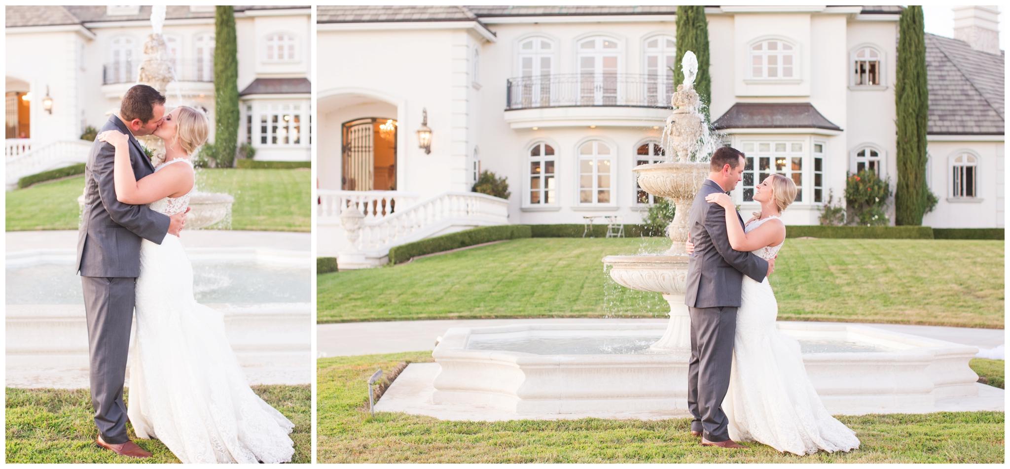 Kassie and Heath at the beautiful Serotonin Manor in Cottonwood, California.