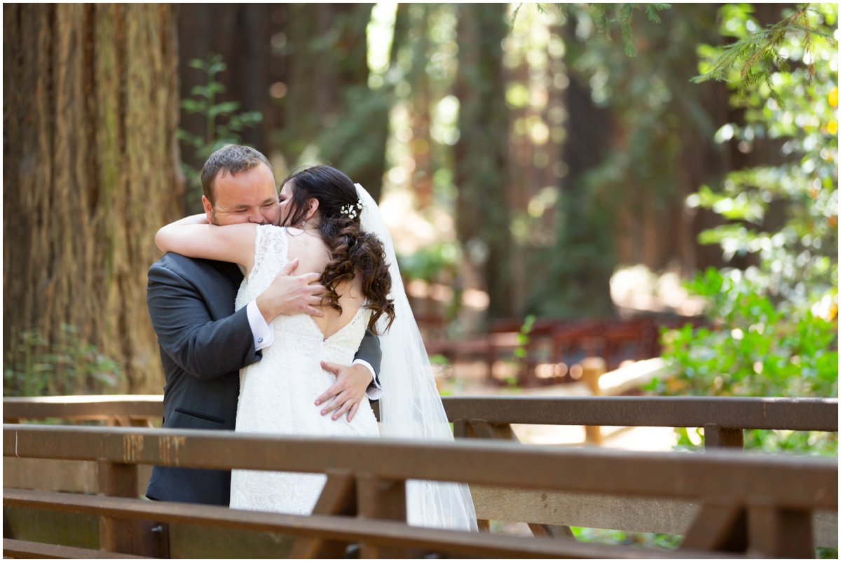 Selena & Rick share an intimate moment after their First Look.