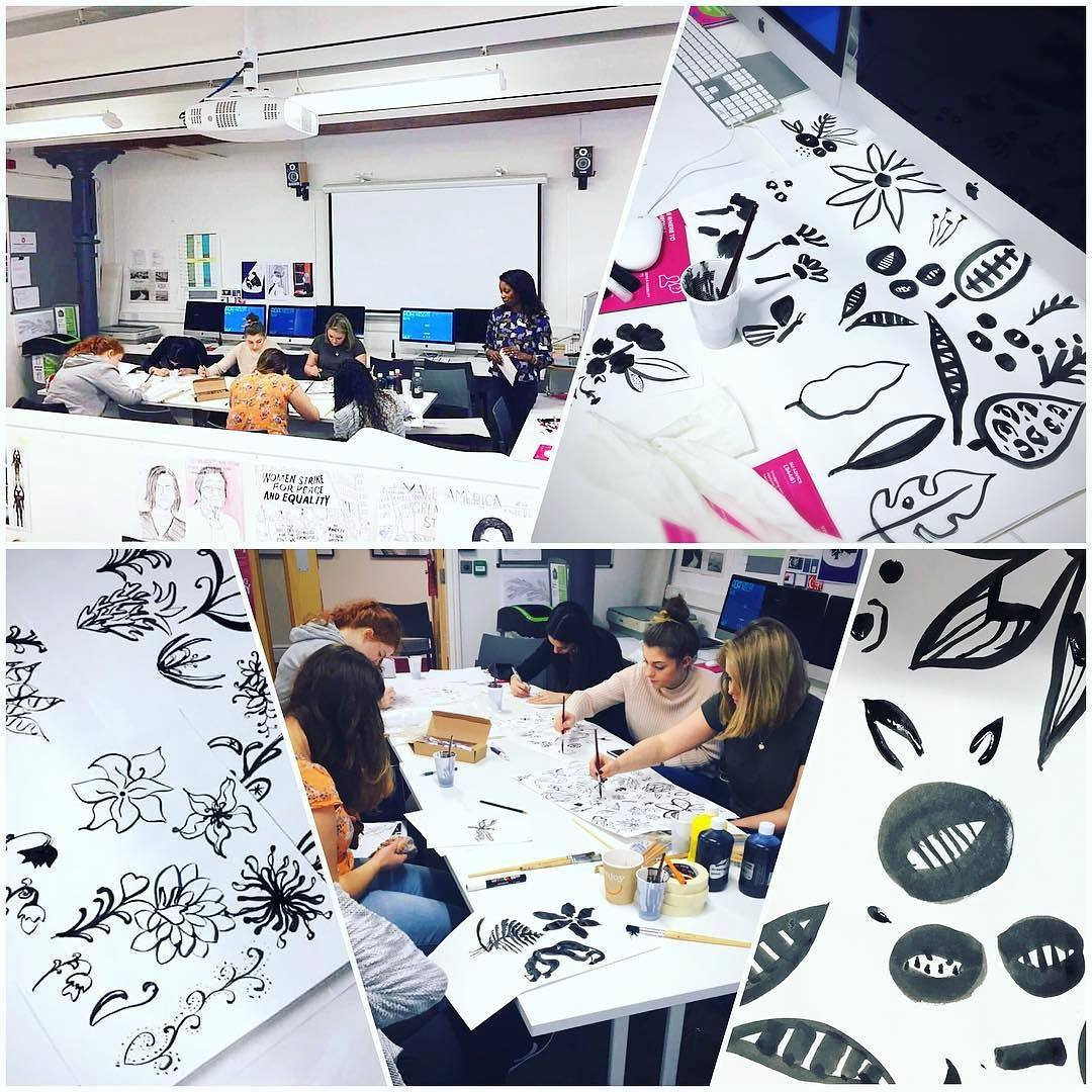 A Lovely Mess Workshop at The University of Huddersfield