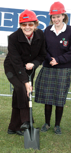 Scoil Chriost Ri Turning the Sod