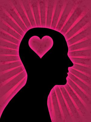 Man head heart