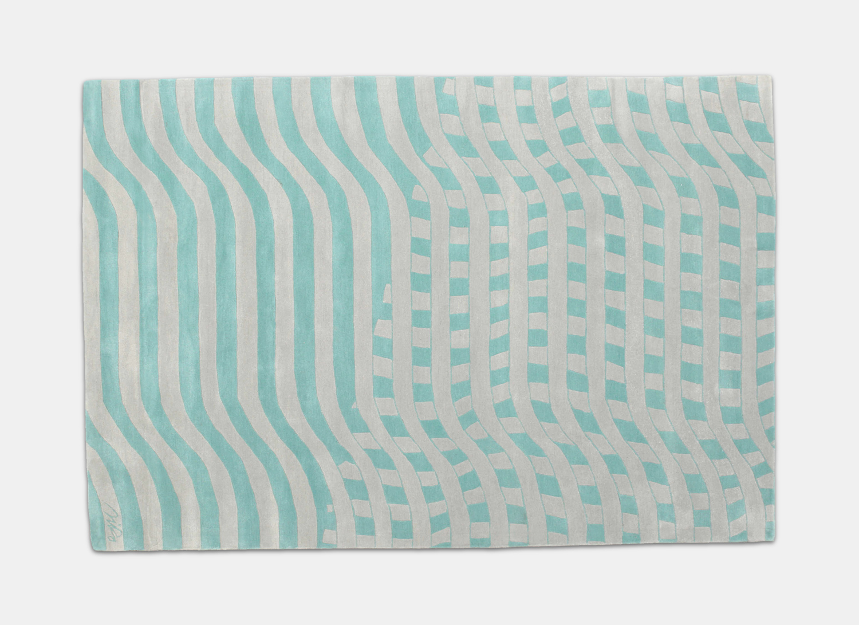 """PASSAGES"" carpet design by Iiro A. Ahokas. Producer: CarpetVista"