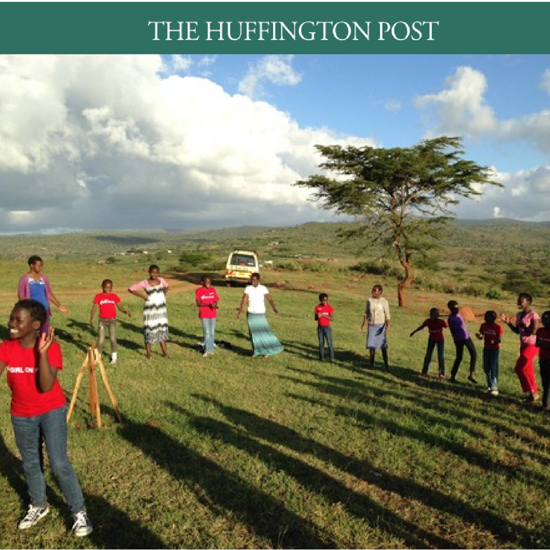 Girls on Fire featured in Huffington Post. Article by Brittany Policastro