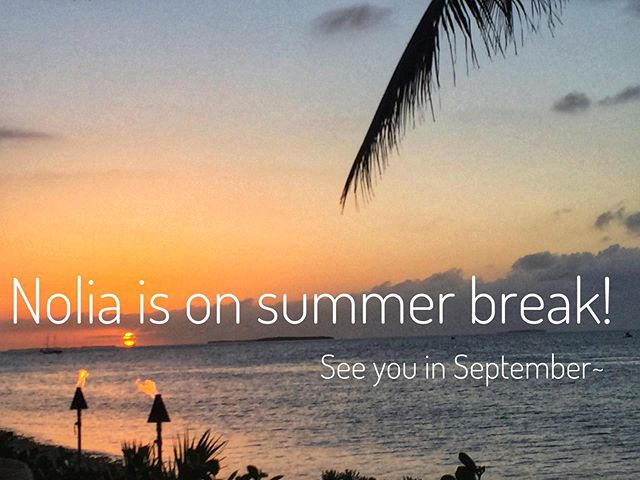 Truffles just don't like hot weather so Nolia is on summer break for 3 months, drinking all the margaritas. We will see you in September! 🏝 #summerholiday #keywestorbust
