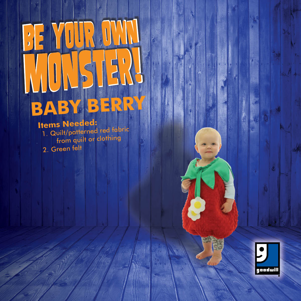 "Want costume ideas for everyone in the family?  Download the ""Be Your Own Monster"" costume lookbook!"