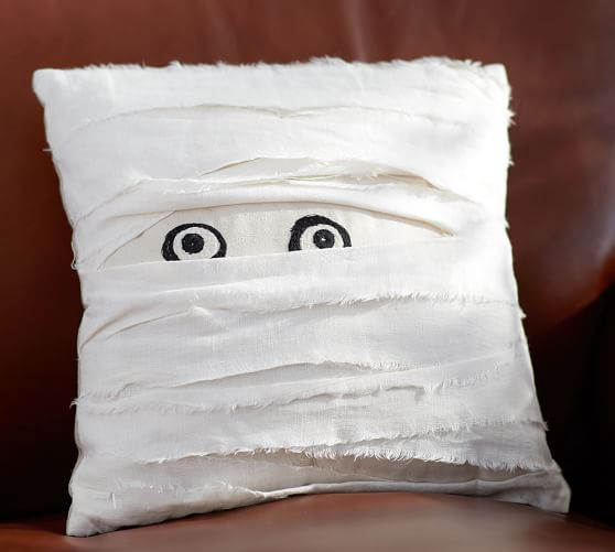Mummy Pillow from the Pottery Barn