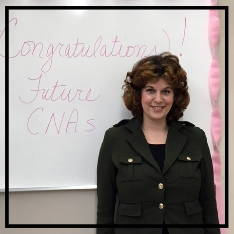 """Jillian - """"[The CNA class has helped me] tremendously! This program helped prepare me to become a CNA, which I will use as a stepping stone to becoming a registered nurse. SNAP made it so I did not have to pay a cent!"""" Learn more about Jillian!"""