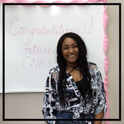 """Serlita - """"Do what people think you can't and believe in yourself; have patience and study hard. I enjoyed this class so much and can't to use my skills in the work force."""""""