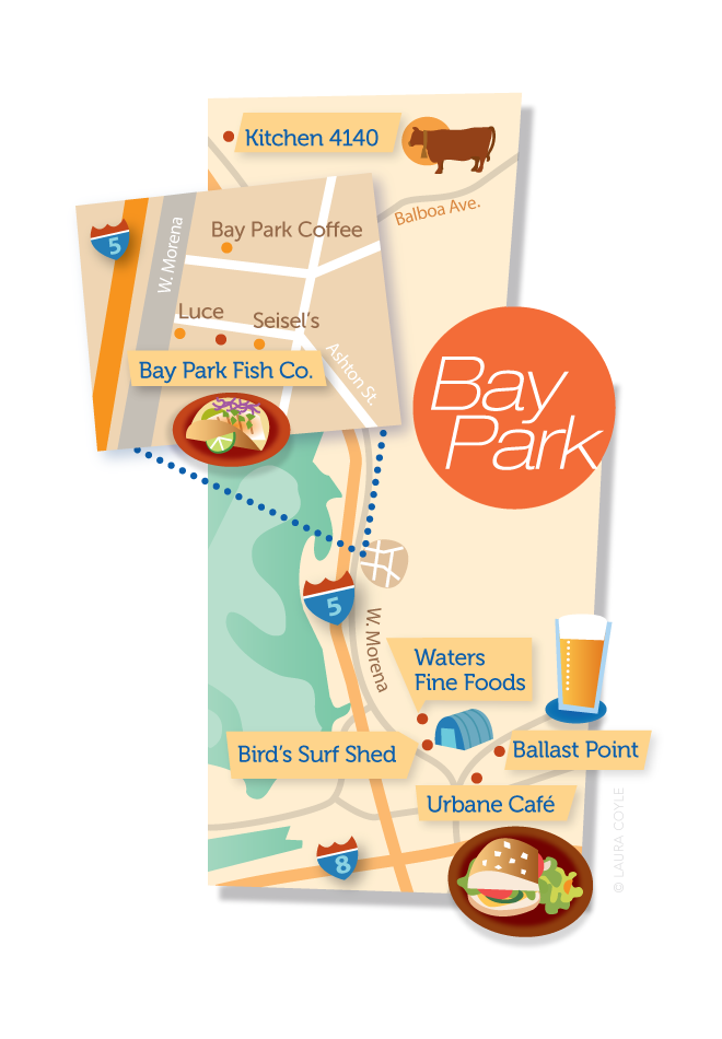 Bay Park Map